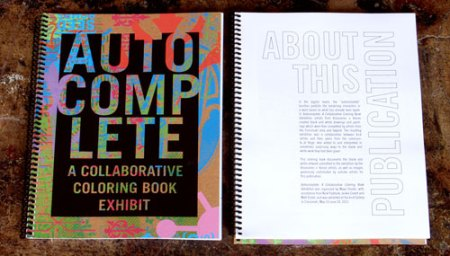 Autocomplete Exhibition Catalog by VisuaLingual