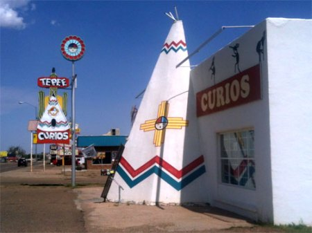 Route 66 in Tucumcari, NM