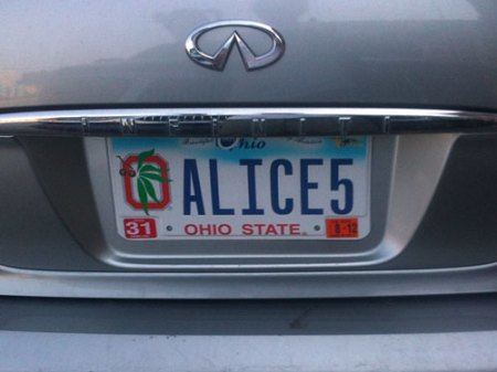 Field Guide to the Vanity License Plates of Southwestern Ohio: Part 6