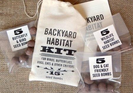 Backyard Habitat Kit by VisuaLingual