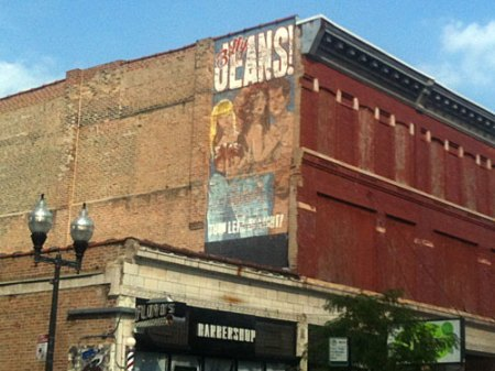 Billy Jeans Ghost Sign in Chicago