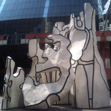 Monument with Standing Beast by Jean Dubuffet