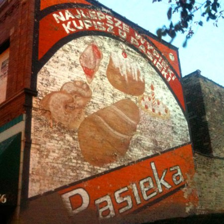 Pasieka Ghost Sign in Chicago
