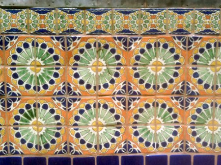 Patterned Tile in Santa Fe