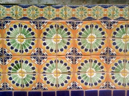 Patterned Tile in Santa Fe