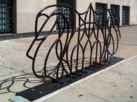 Queen City Art Rack by Carolyn Watkins