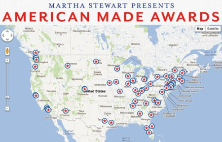 VL in Martha Stewart's American Made Competition