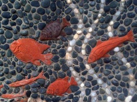 Del Mar Library Mosaic by Betsy Kopshina Schulz and Pat Welsh