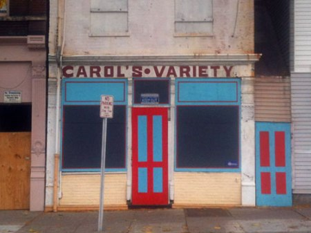 Carol's Variety Ghost Sign in Over-the-Rhine
