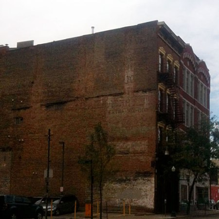 Extra Six-Cord Ghost Sign in Cincinnati