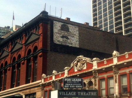 Germania Club Building Ghost Sign in Chicago