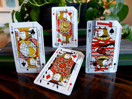 Metrodeck Playing Cards by Norman Ibarra