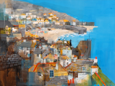 Mousehole, Harbour by Mike Bernard