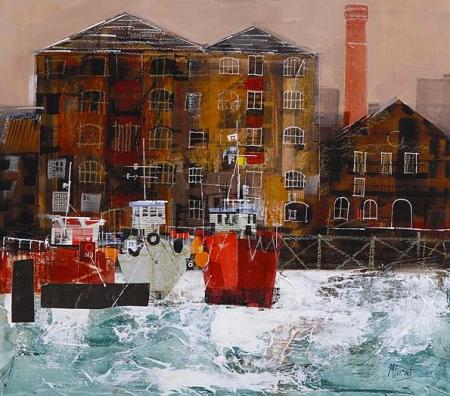 London Warehouses by Mike Bernard