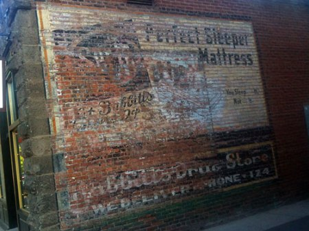 Serta Perfect Sleeper Mattress Ghost Sign in Flagstaff