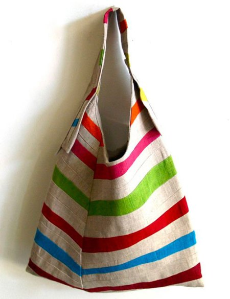 striped sling bag by Yorktown Road