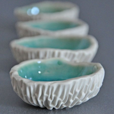 geode bowls by Element Clay Studio