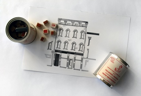 Paper Neighborhood by Steam Whistle Letterpress and Design