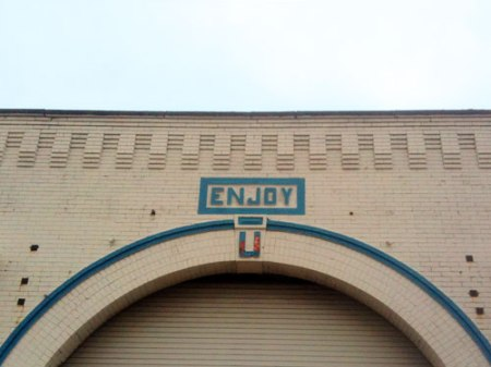 Enjoy Ghost Sign in Cleveland