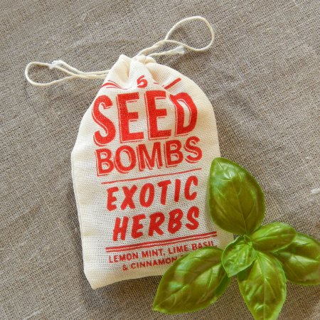 Exotic Herbs Seed Bombs by VisuaLingual