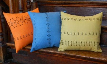 Flourishing Pillows by VisuaLingual