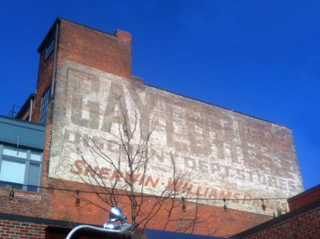 Gaylord's Discount Dept. Stores Ghost Sign in Cleveland
