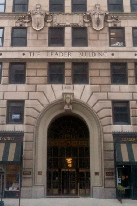 The Leader Building by Charles Adams Platt
