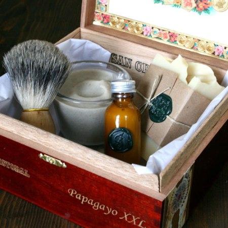 shaving kit by Orange Fuzz