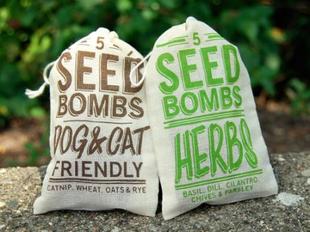 seed bombs by VisuaLingual