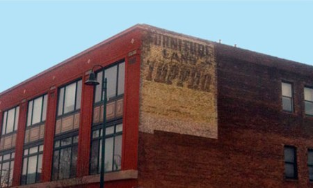 Tappan Furniture Land Ghost Sign in Cleveland