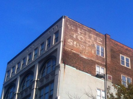 White Tool & Supply Ghost Sign in Cleveland