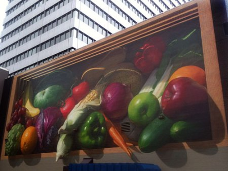 Kroger Produce Mural by Jonathan Queen
