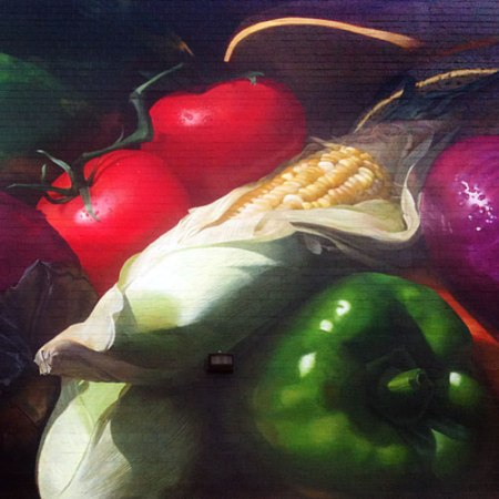Kroger Produce Mural by Jonathan Queen