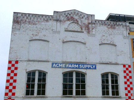 Acme Farm Supply Ghost Sign in Nashville