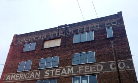 American Steam Feed Co. Ghost Sign in Nashville