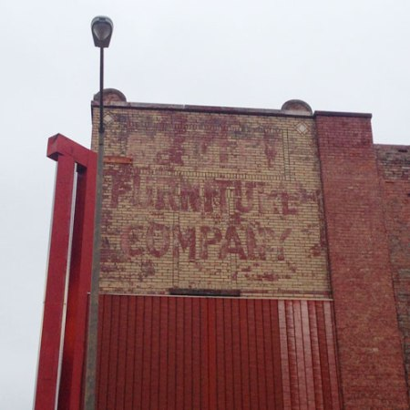 Beesley Furniture Company Ghost Sign in Nashville