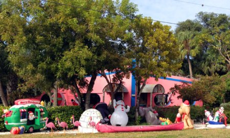 Christmas on Sanibel Island, FL
