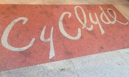 Cy Clyde Ghost Sign in Miami Beach