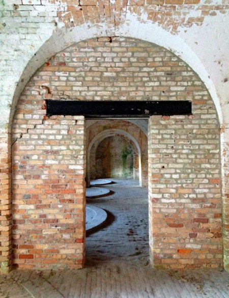 Fort Pickens by Simon Bernard