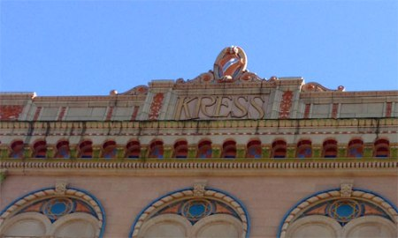 Kress Ghost Sign in Tampa