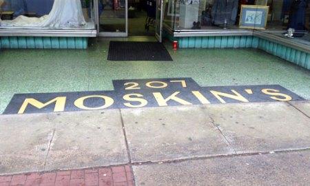 Moskin's Ghost Sign in Savannah