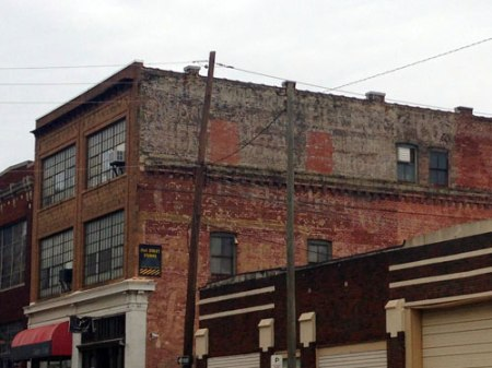 Pepsi Cola Ghost Sign in Birmingham