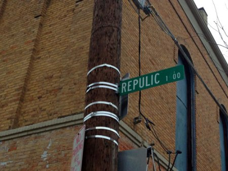 Repulic St. in Over-the-Rhine, Cincinnati