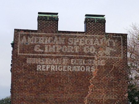 American Specialty & Import Co. Ghost Sign in Savannah