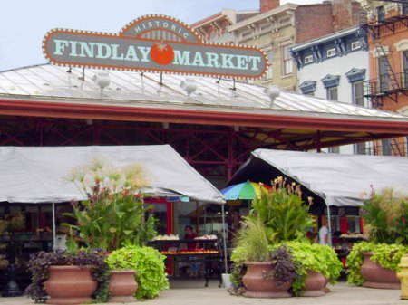 Findlay Market in Over-the-Rhine, Cincinnati