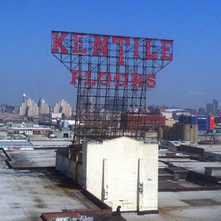 Kentile Floors Ghost Sign in Brooklyn