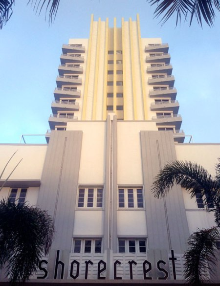 Art Deco South Beach in Miami Beach
