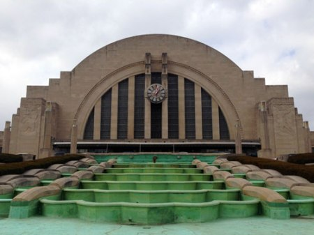 Cincinnati Union Terminal by Alfred Fellheimer, Steward Wagner and Paul Phillipe Cret