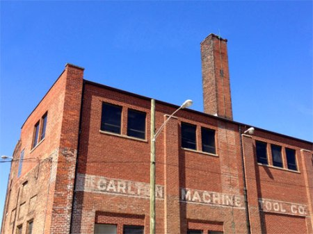 Carlton Machine Tool Co. Ghost Sign in Cincinnati