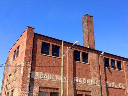 Carlton Machine Tool Co. Ghost Sign in Cincinnati